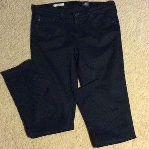 AG Black Velvet Jeans